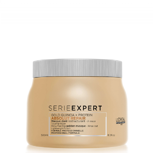 Loreal Serie Expert  Mascarilla Gold Quinoa Absolut Repair  500 ml